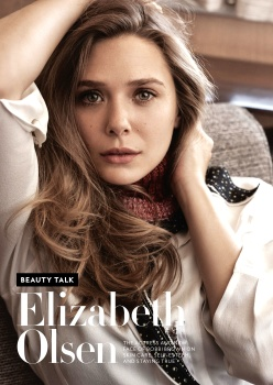 Elizabeth Olsen -            InStyle Magazine April (2019).