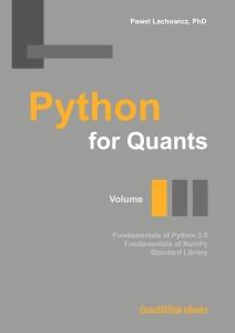 Python for Quants  Volume I