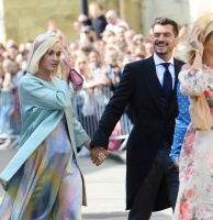 Katy Perry -     Ellie Goulding's Wedding York Minster Cathedral London August 31st 2019.