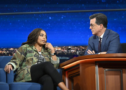 Jemele Hill - The Late Show with Stephen Colbert: November 15th 2018