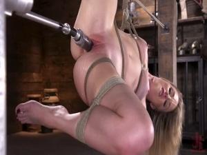 Kate Kennedy - Brand New Blonde in Bondage and Machine Fucked - BDSM, Punishment, Bondage