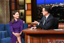 Bianna Golodryga - The Late Show with Stephen Colbert: November 14th 2018