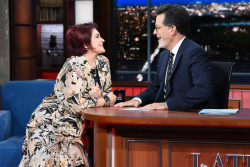 Sharon Osbourne - The Late Show with Stephen Colbert: September 7th 2018