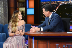 Sarah Jessica Parker - The Late Show with Stephen Colbert: October 30th 2018