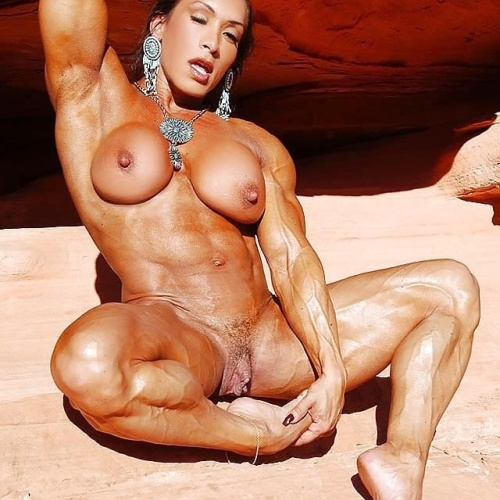Female bodybuilders with huge clits
