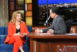 Amber Tamblyn - The Late Show with Stephen Colbert: March 5th 2019
