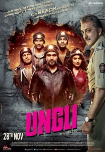 Ungli (2014) Hindi - 720p WEB-HD - x264 - AAC 5 1 - ESubs - Sun George-DrC