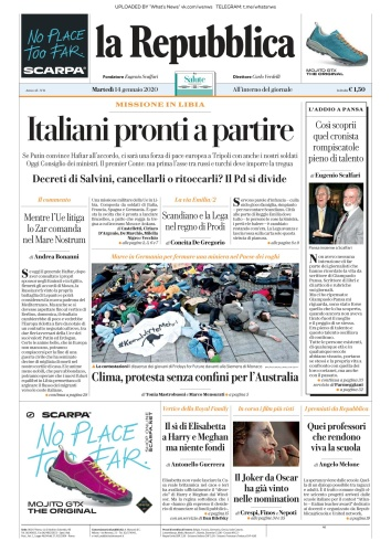 la Repubblica - 14 01 (2020)