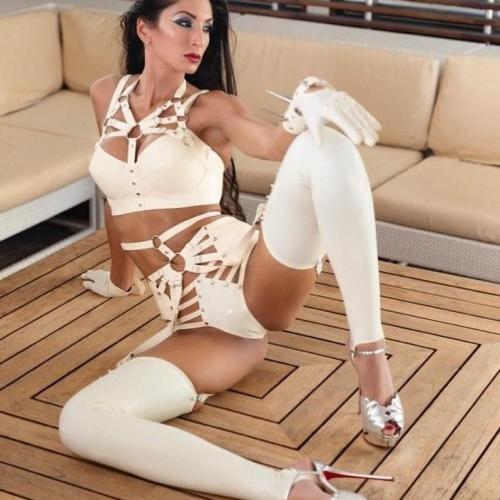 Latex stockings porn pics