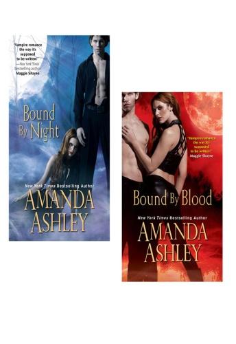Madeline Baker as Amanda Ashley   Bound   Bound by Night & Bound by Blood (v5)