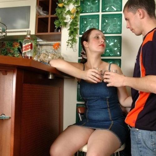 Mature women seducing younger women