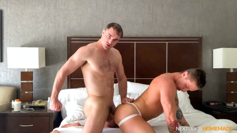 Next Door Homemade: Michael Boston & Lance Ford (Bareback)