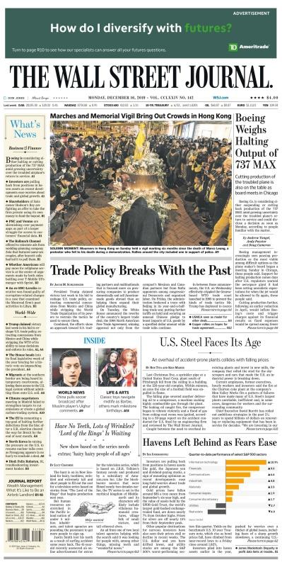 The Wall Street Journal - 16 12 (2019)