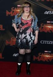 Kirsten Vangsness - 'Captain Marvel' premiere in Hollywood 03/04/2019