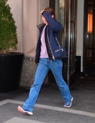 Natalie Portman - Leaves The Mark Hotel in New York City 02/19/19