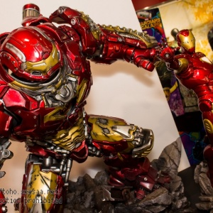 Avengers : Age of Ultron - HulkBuster Premium Collective 1/4 Statue (Hot Toys) QcSqjt41_t