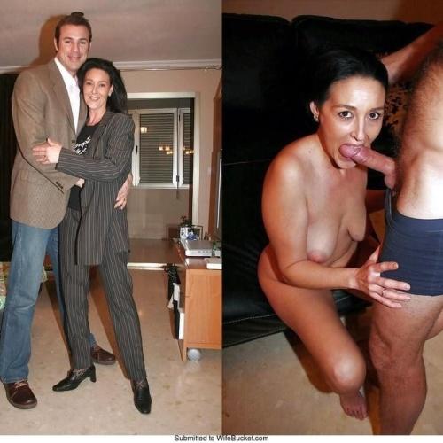 Nude wife bucket
