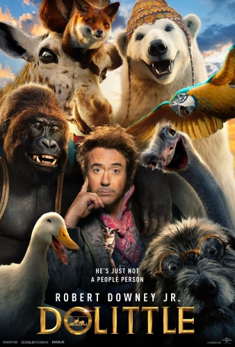 Dolittle (2020) English HDCAM-Rip 720p x264 AAC 850MBMB
