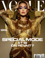 Gigi Hadid -           Vogue Magazine (Paris) May/June 2020.