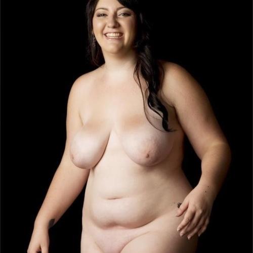 Chubby nude big tits