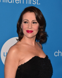 Alyssa Milano - 7th Biennial UNICEF Ball in Beverly Hills 4/14/18