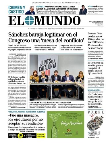 El Mundo - 10 12 (2019)