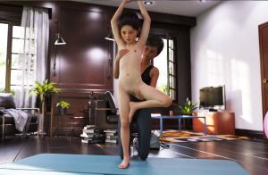 [Cetarn] Yoga Yuri (comic, eng)