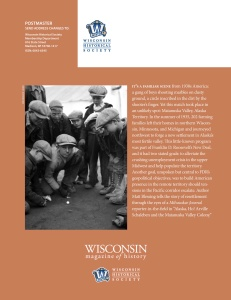 Wisconsin Magazine of History - November (2019)