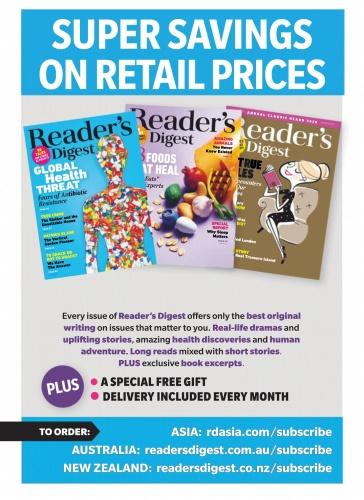 Reader ' s Digest Australia & New Zealand - March (2020)
