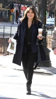 Mariska Hargitay -           ''Law and Order: SVU'' Set New York City January 24th 2018.
