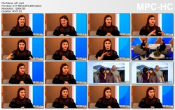 Alexandra Daddario - Harry show clips Feb.9.2018