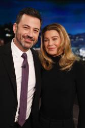Ellen Pompeo - Jimmy Kimmel Live: February 28th 2019