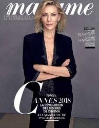 Cate Blanchett -                           Madame Figaro Magazine (France) May 2018.