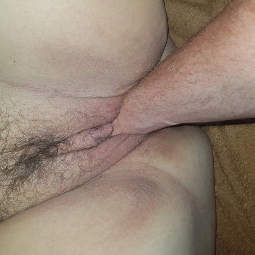 Very hairy clit