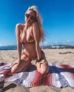 Genevieve Morton in Bikini 1/3/2020