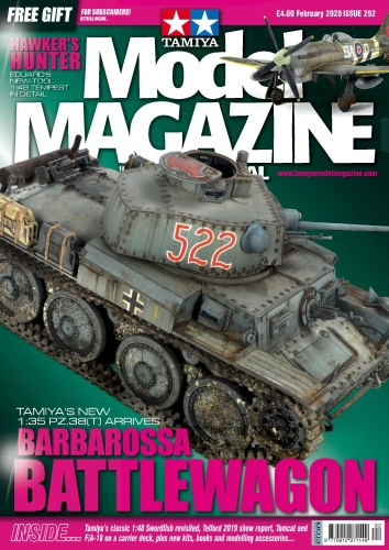 Tamiya Model Magazine - Issue 292 - February (2020)
