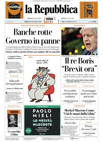 la Repubblica - 14 12 (2019)