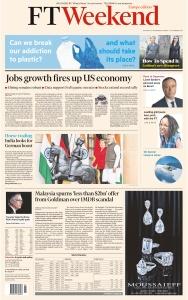 Financial Times Europe - 02 11 2019 - 03 11 (2019)