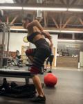 Nicole Scherzinger - Workout, March 2019