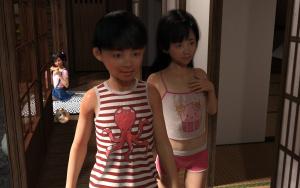 [BlackK studio] Wasurerarenai Natsu _Natsuyasumi ni Asobi ni Ittara Masaka Oba-san to Itoko to...!!
