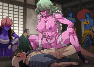 [Spiral Brain (Greco Roman)] Onigashima vs Tanetsuke Oji-san