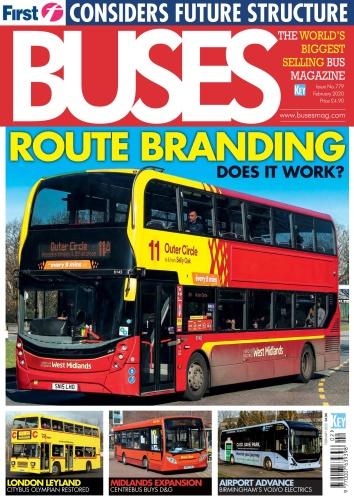 Buses Magazine - Issue 779 - February (2020)