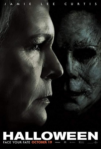 Halloween (2018) 1080p BluRay x264 DD5 1 {Dual Audio}{Hindi+English} Hammer