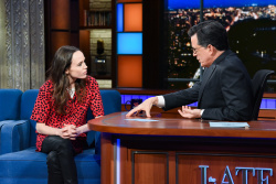 Ellen Page - The Late Show with Stephen Colbert: January 31st 2019