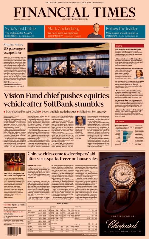 Financial Times UK - 17 02 (2020)