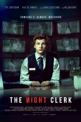 The Night Clerk 2019 720p WEBRip 800MB x264-GalaxyRG