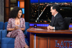 Angela Bassett - The Late Show with Stephen Colbert: March 13th 2018