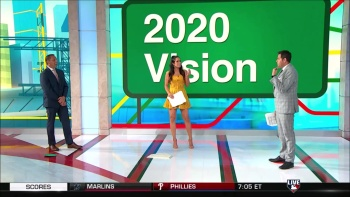 Lauren Shehadi Skimpy Yellow Dress Caps 7/24/20