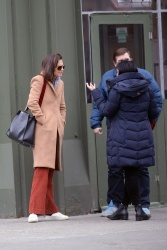 Katie Holmes - Out in New York City 1/7/19