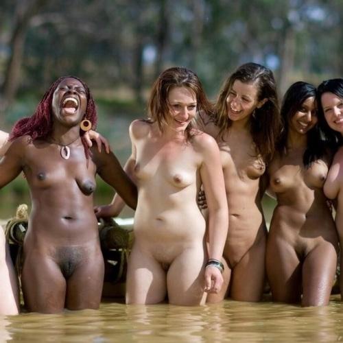 Big white naked ass